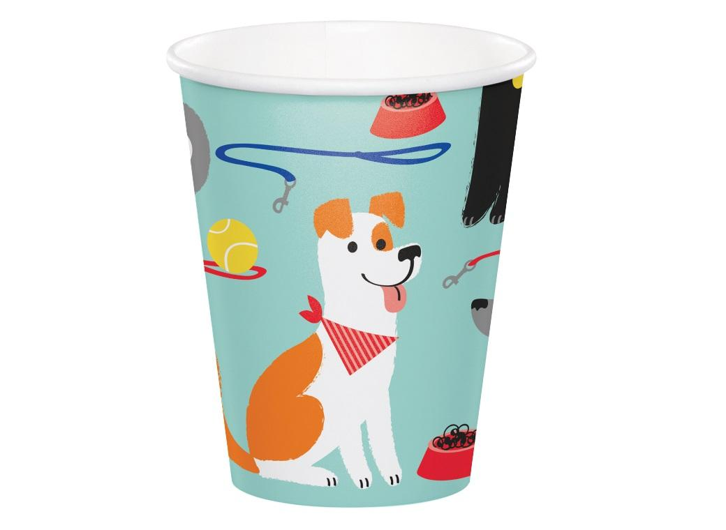 Dog Party Cups 8pk