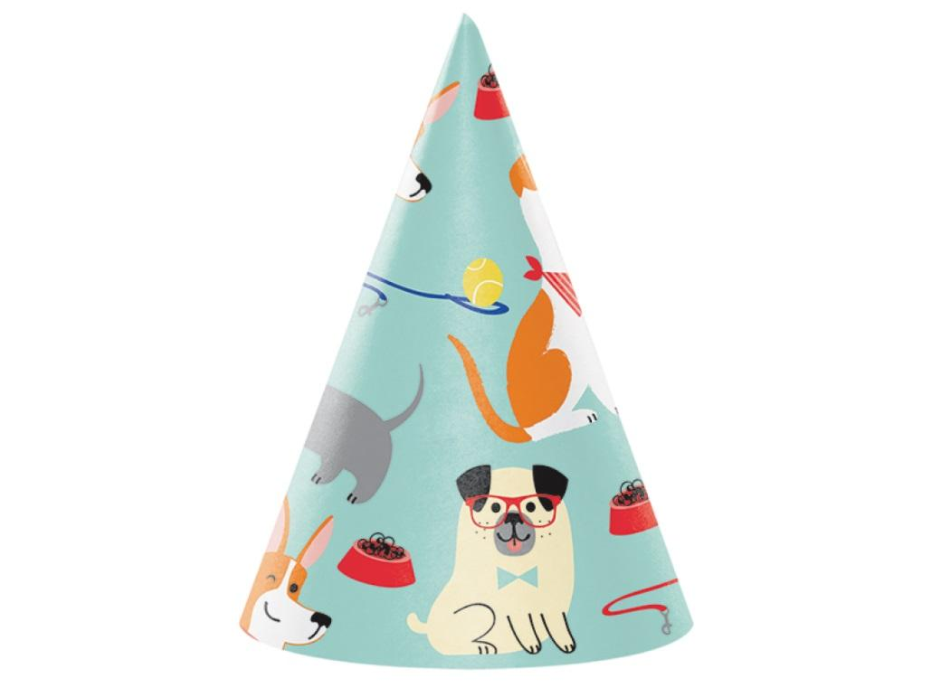 Dog Party Hats 8pk