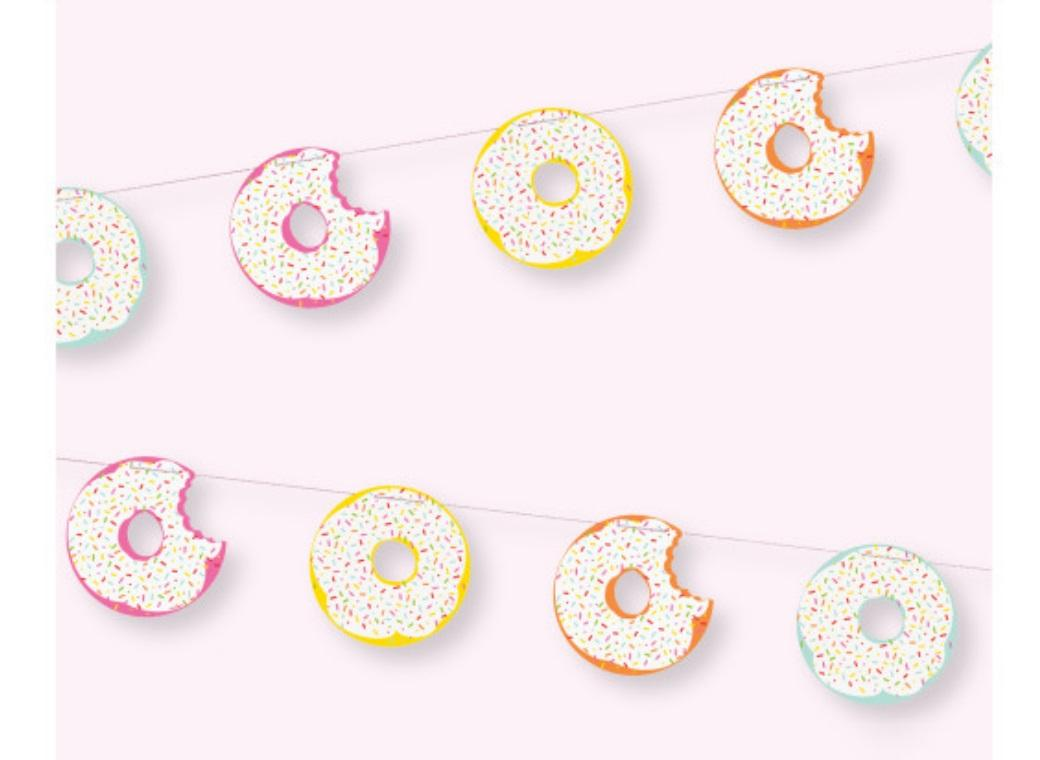 Donut Party Banner