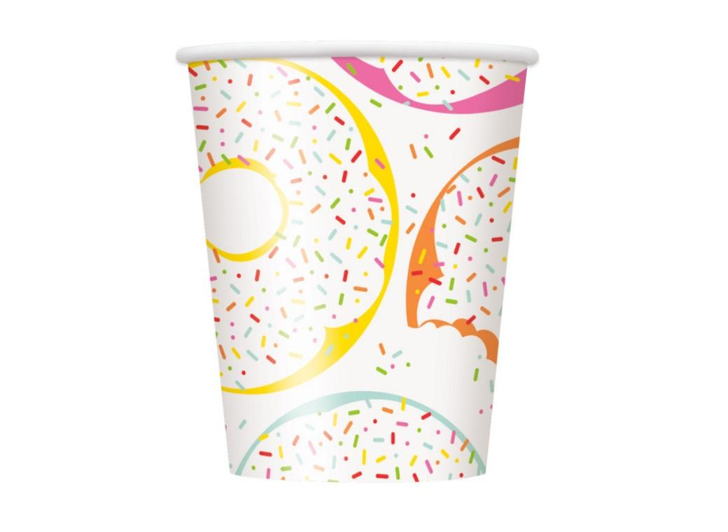 Donut Party Cups 8pk