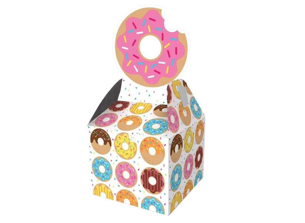 Donut Time Favour Boxes 8pk