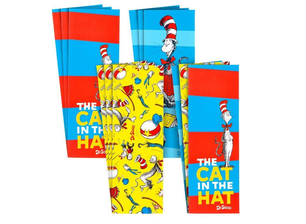 Dr Seuss Bookmark Favours 12pk