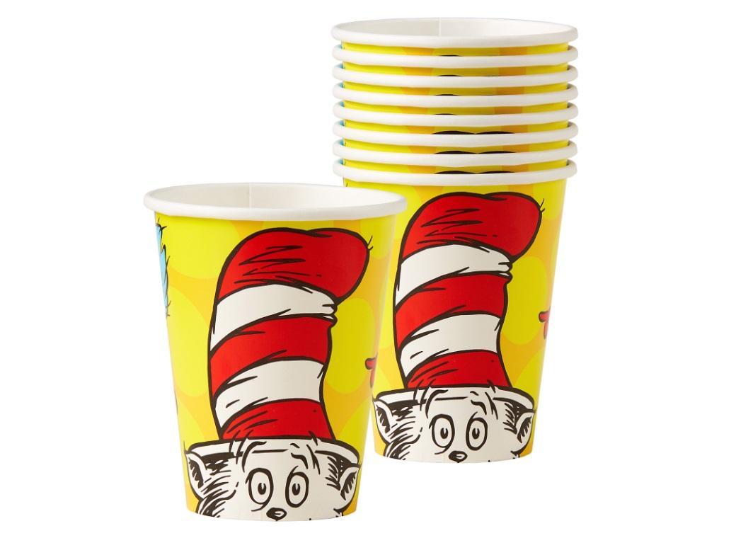 Dr Seuss Cups 8pk