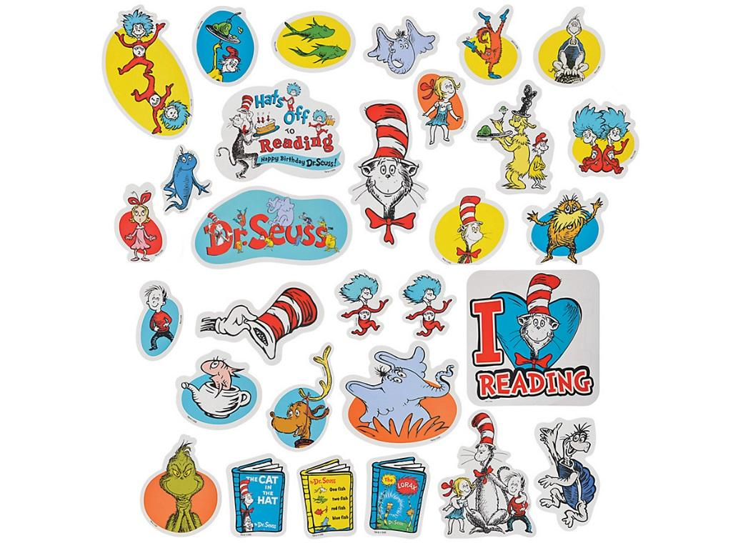 Dr Seuss Cutouts