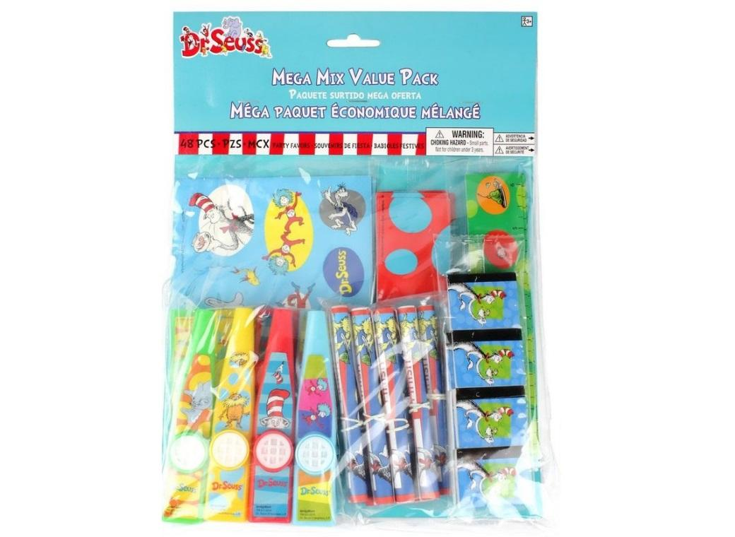 Dr Seuss Mega Value 48pce Favour Pack