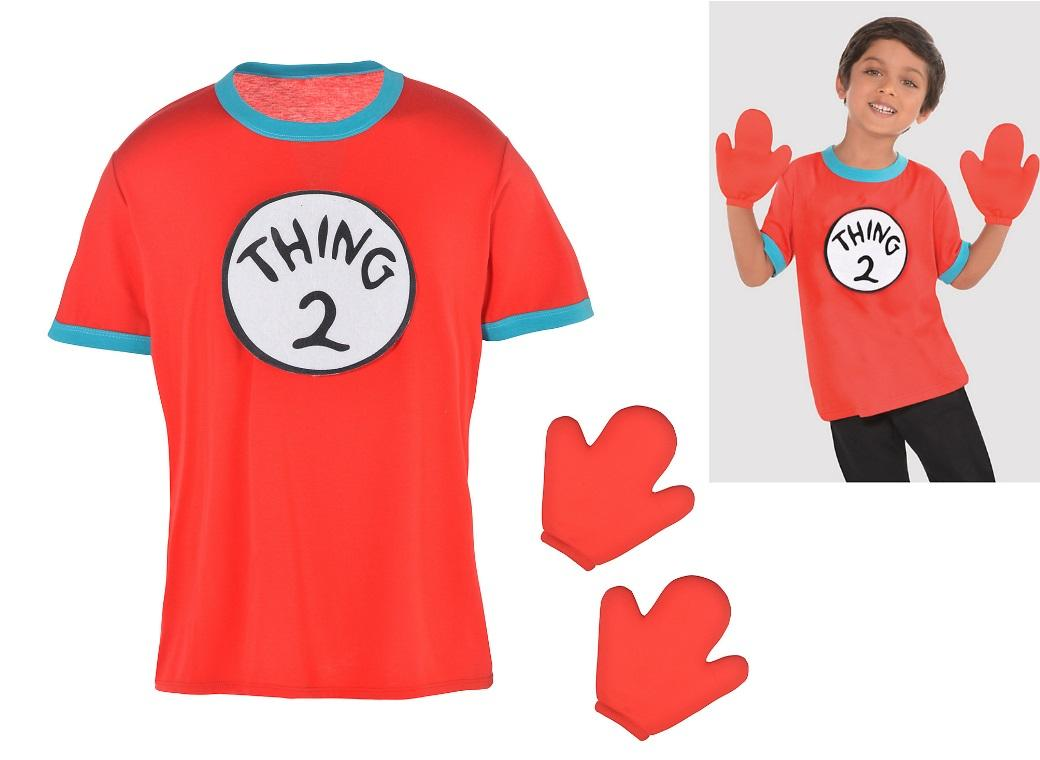 Dr Seuss Thing 1 & 2 Costume Kit