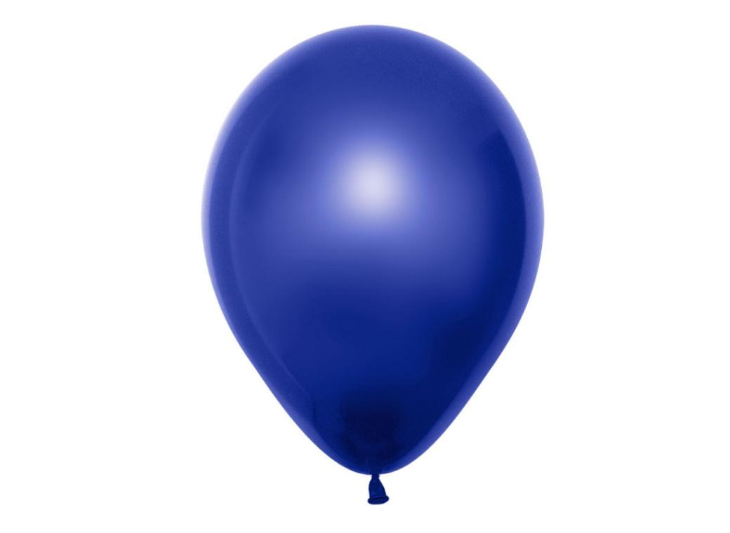 Duo Double Stuffed Balloon - Blue