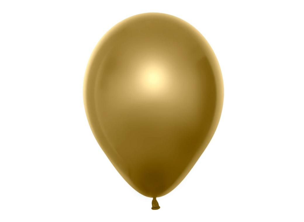 Duo Double Stuffed Balloon - Gold