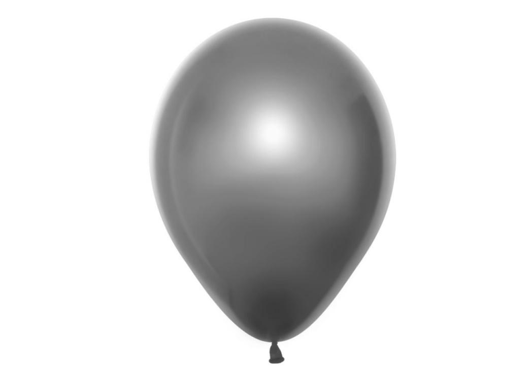Duo Double Stuffed Balloon - Silver