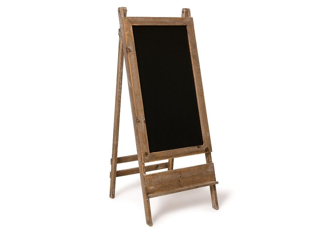 Wooden Easel Blackboard