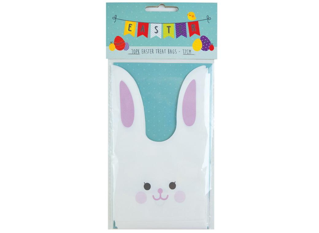 Easter Bunny Treat Bags 10pk