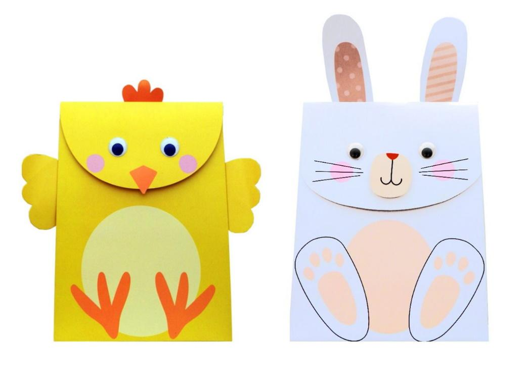 Easter Bunny & Chick Gift Bags