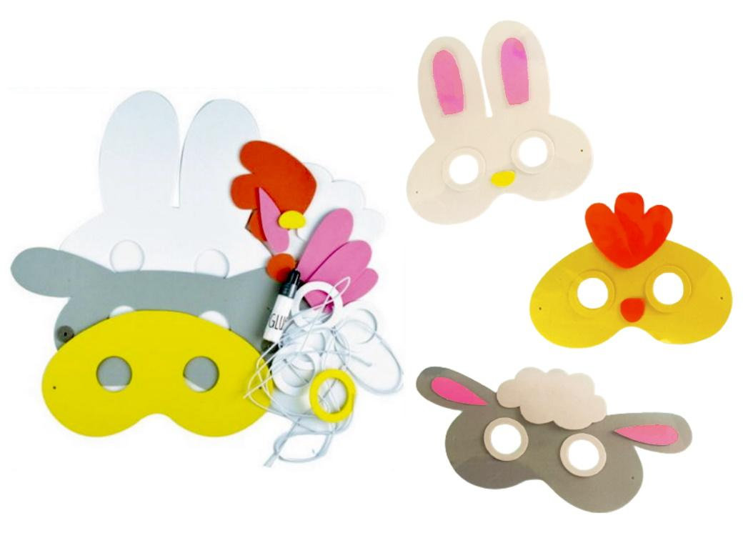 Easter Make Your Own Masks Kit