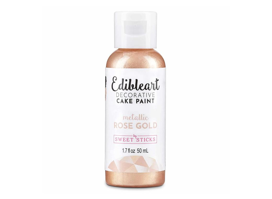 Edible Art Paint - Rose Gold 50ml