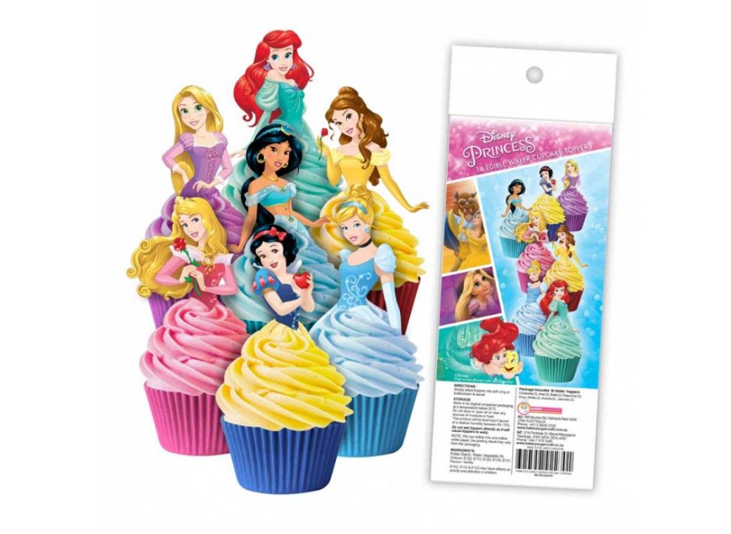 Edible Wafer Cupcake Toppers - Disney Princess