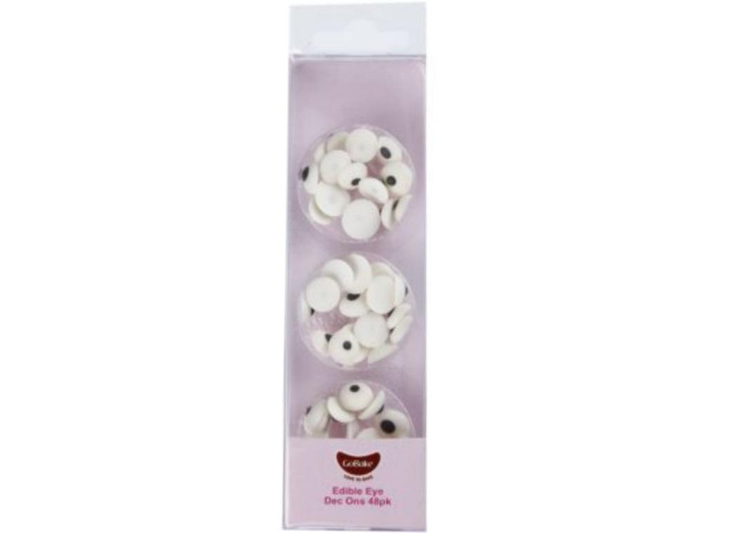 GoBake Dec Ons Novelty Eyes - 48pk