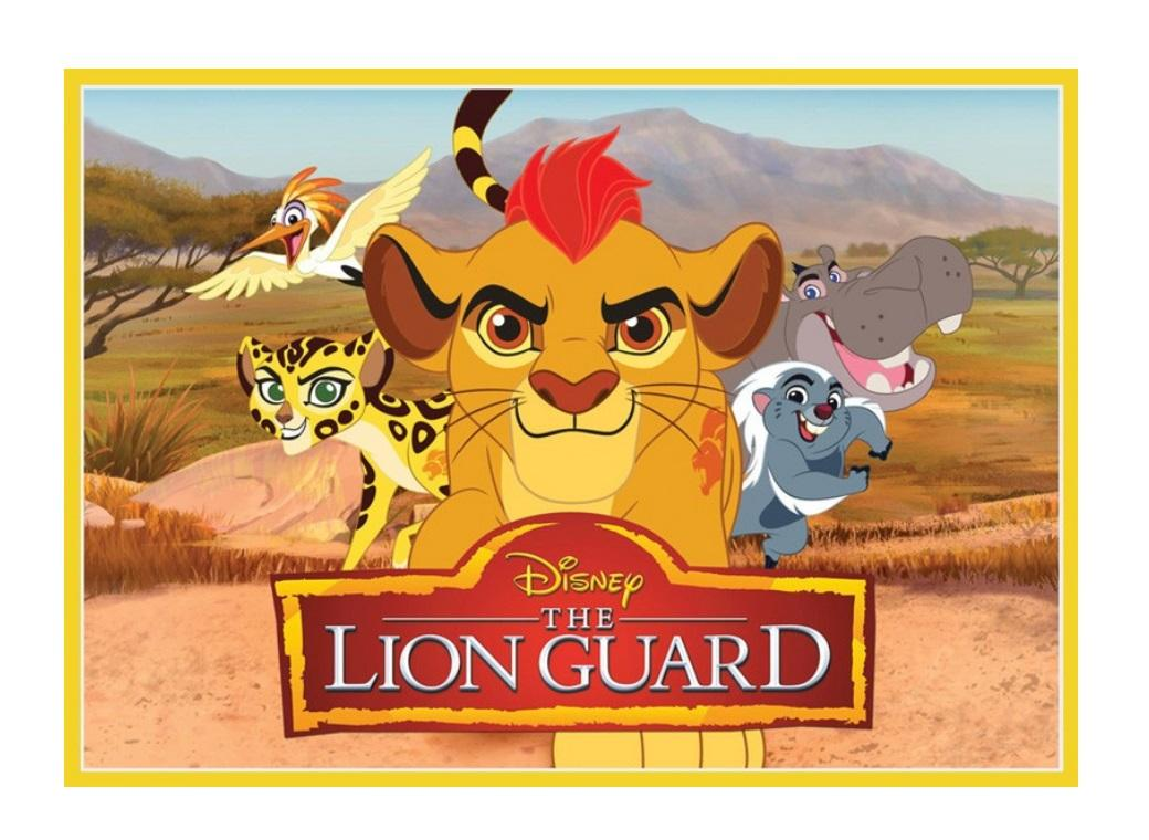 Edible Icing Image - The Lion Guard A4