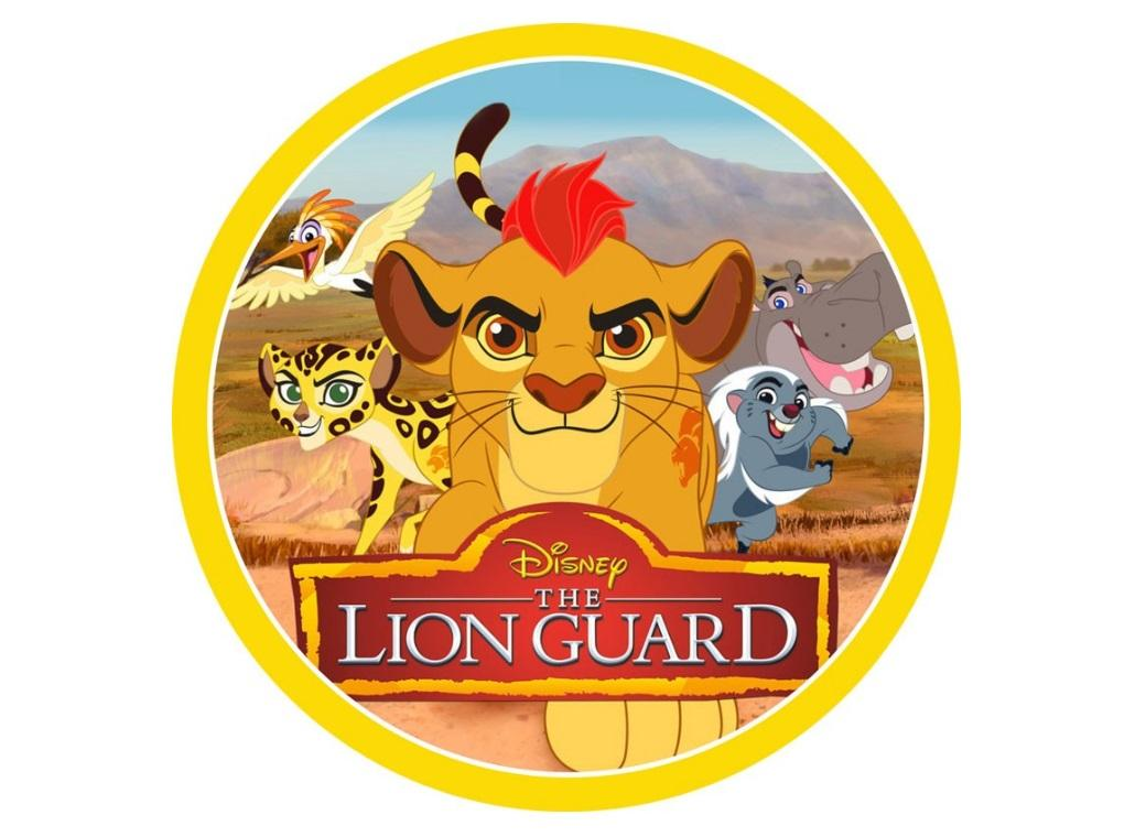 Edible Icing Image - The Lion Guard Round