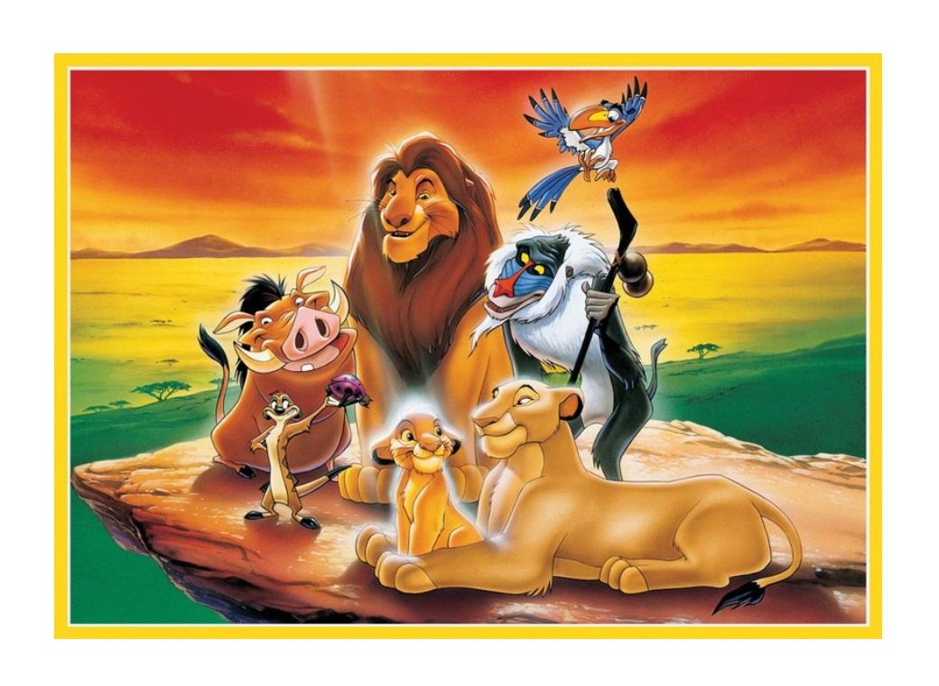 Edible Icing Image - The Lion King A4
