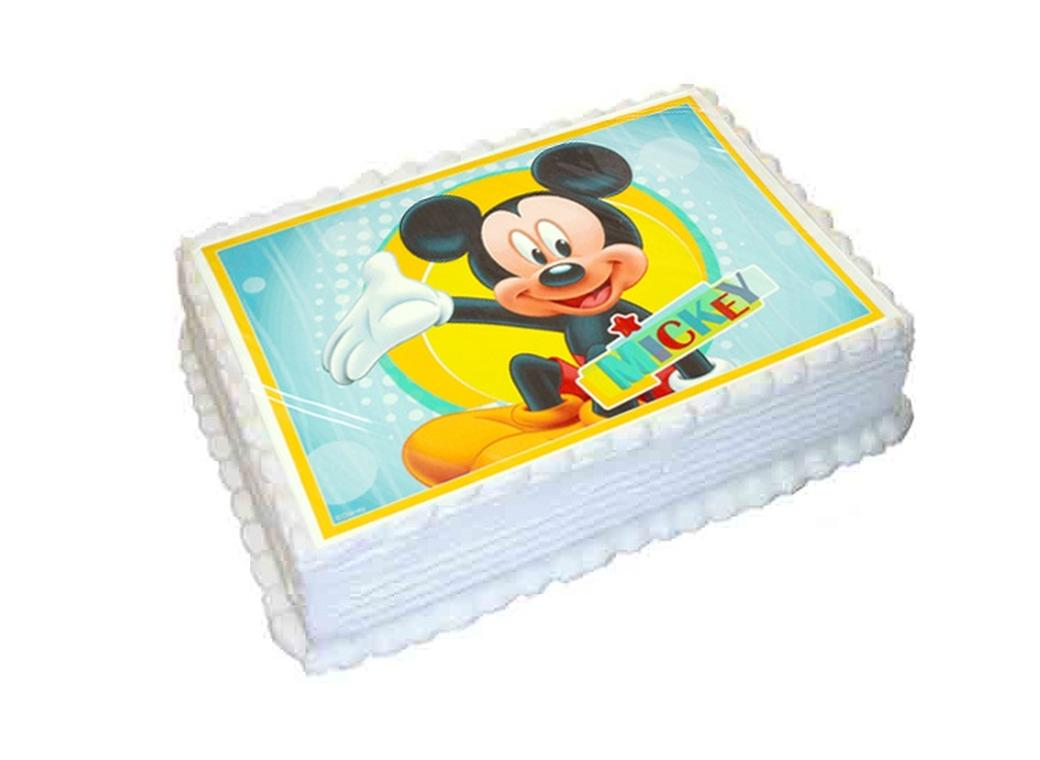 Edible Icing Image - Mickey Mouse A4
