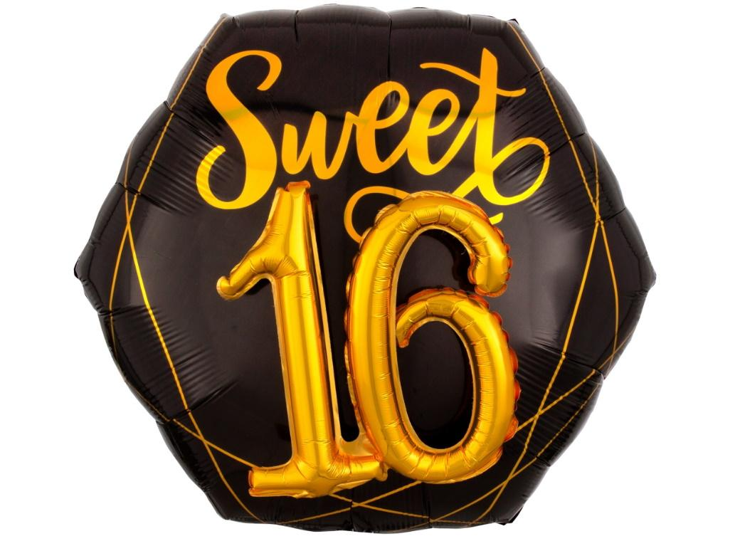Elegant Sweet Sixteen Foil Multi-Balloon