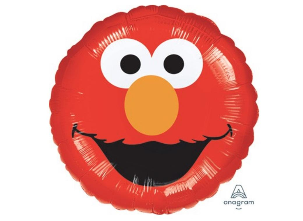 Elmo Smiles Foil Balloon