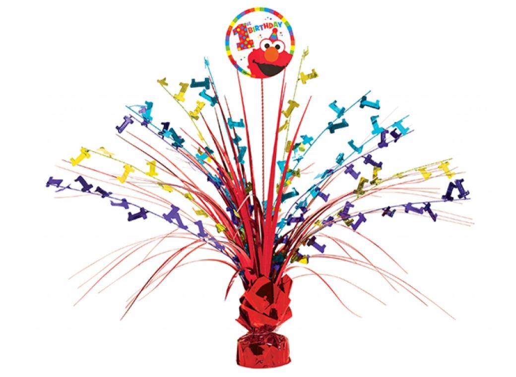 Elmo Turns One Centrepiece