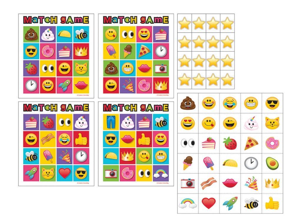 Emoji Bingo Games