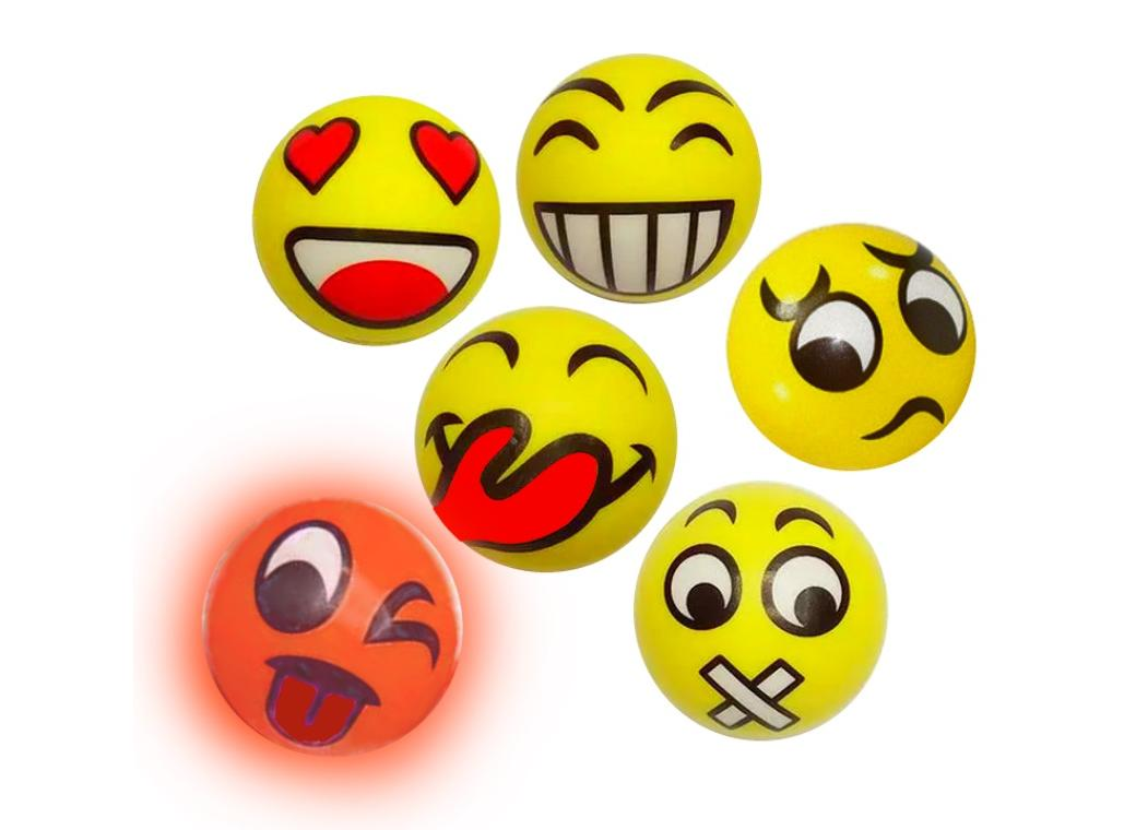 Emoji Flashing Bounce Ball