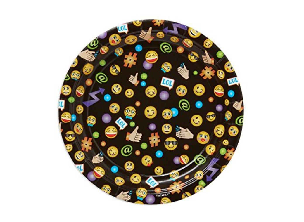 Emoji LOL Lunch Plates 8pk