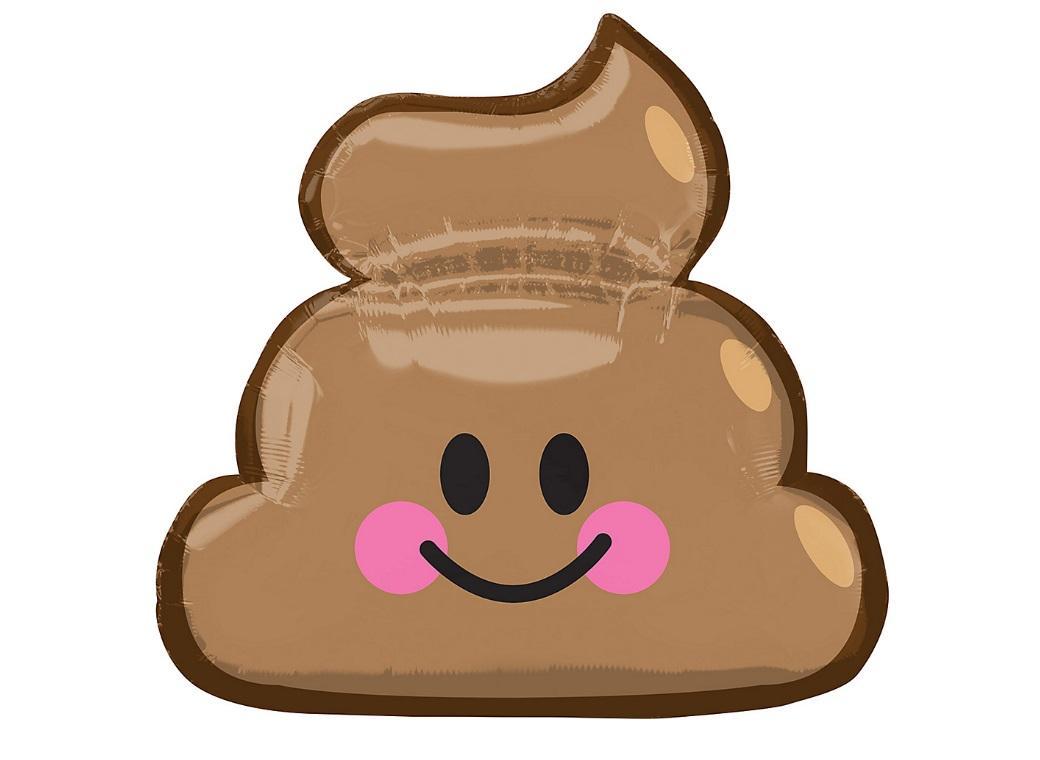 Emoji Poop Shape Balloon