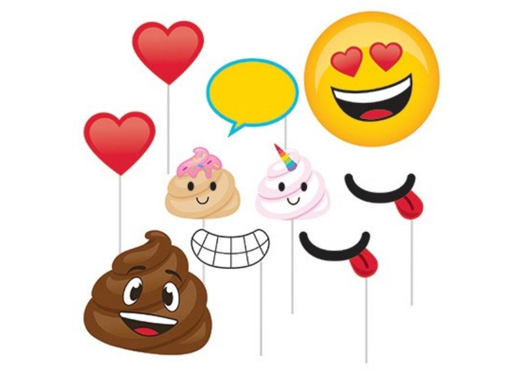 Emoji Poop Photo Props