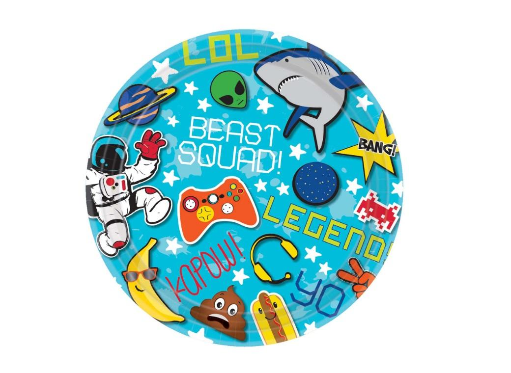 Epic Party Lunch Plates 8pk