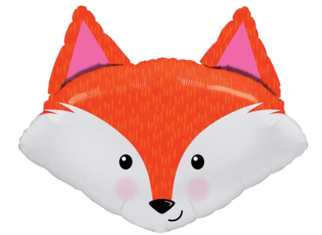 Fabulous Fox Shape Foil Balloon