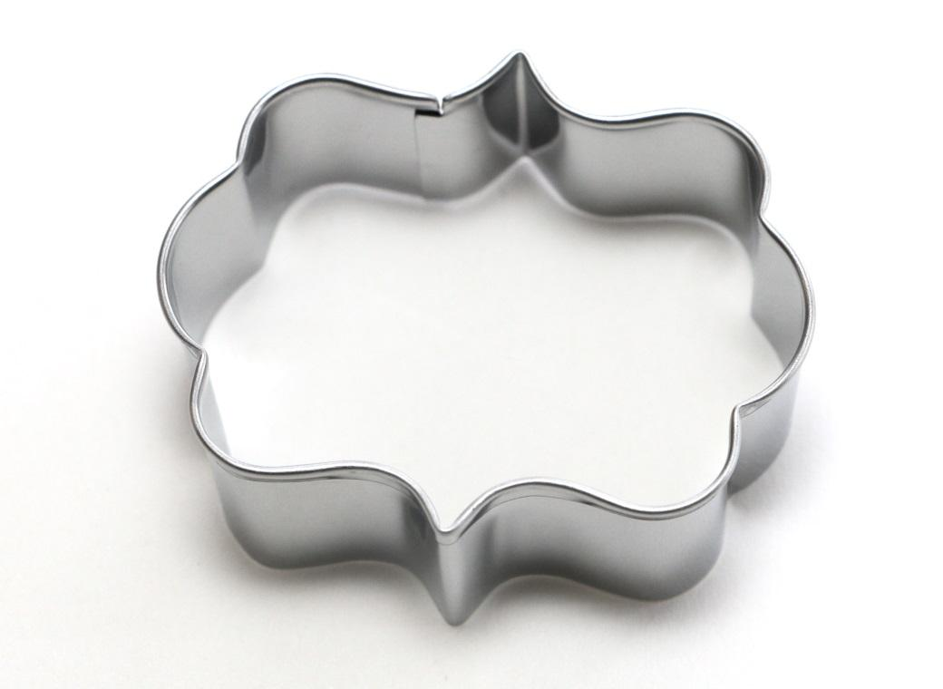 Cookie Cutter - Message Plaque