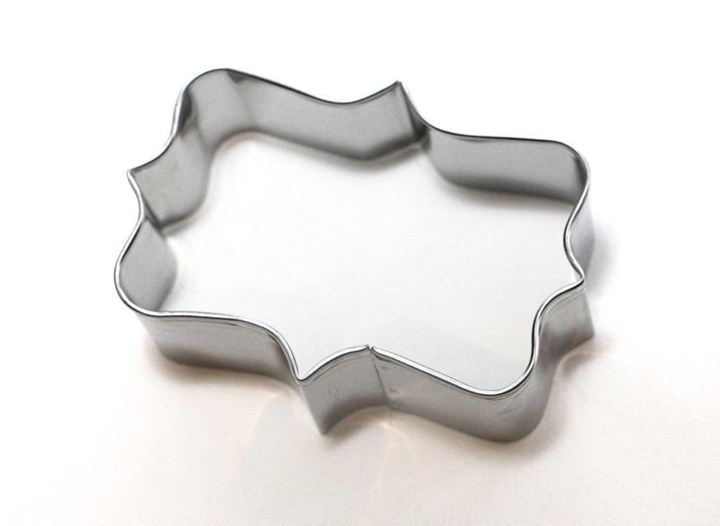 Cookie Cutter - Long Plaque