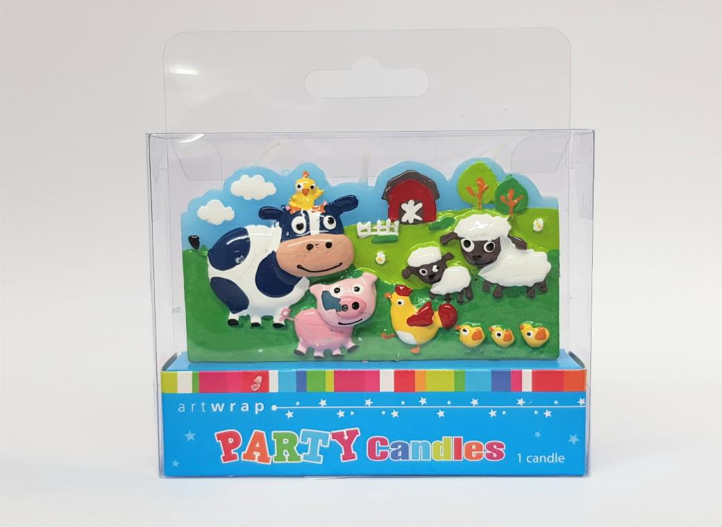 Farmyard Scene Candle