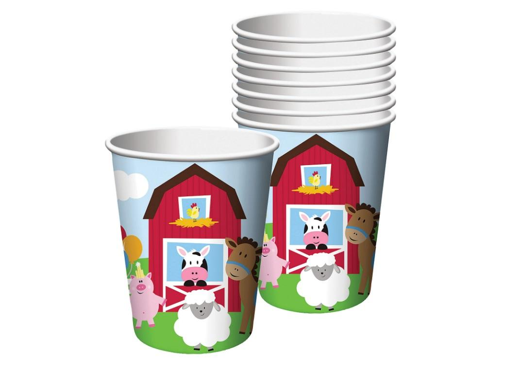 Farmhouse Fun Cups 8pk