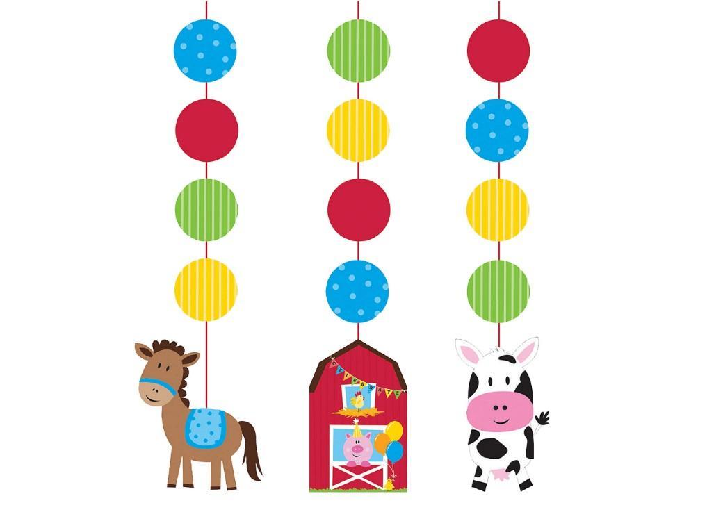 Farmhouse Fun Hanging Cutout Decorations
