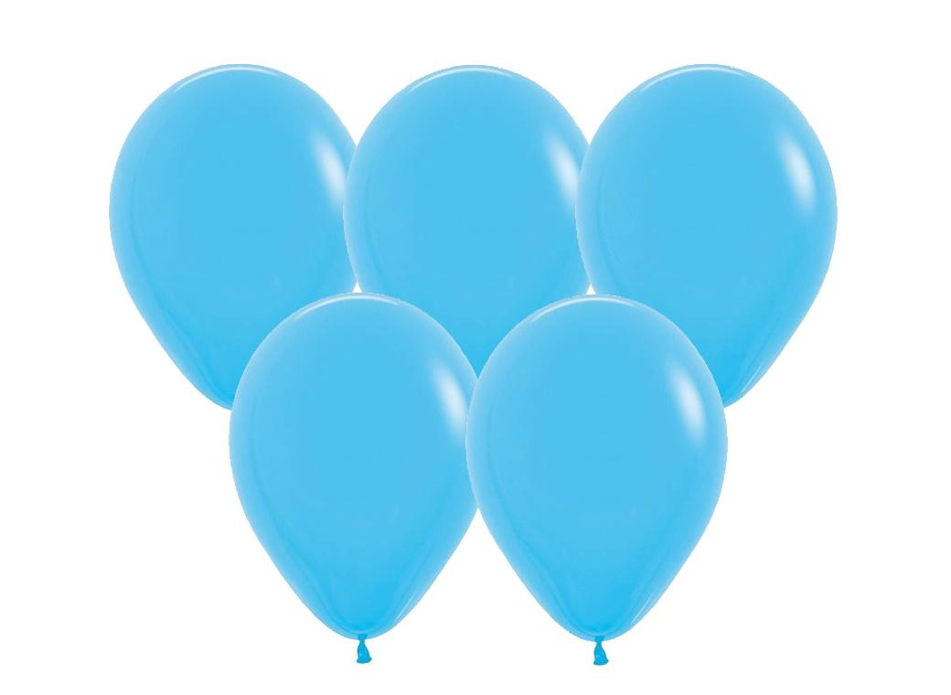 Fashion Blue Balloons 25pk