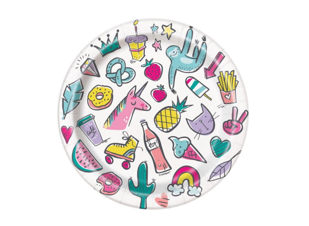 Favourite Things Lunch Plates 8pk