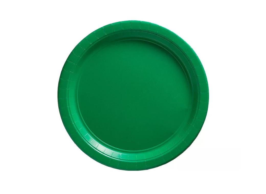 Lunch Plates 20pk - Festive Green
