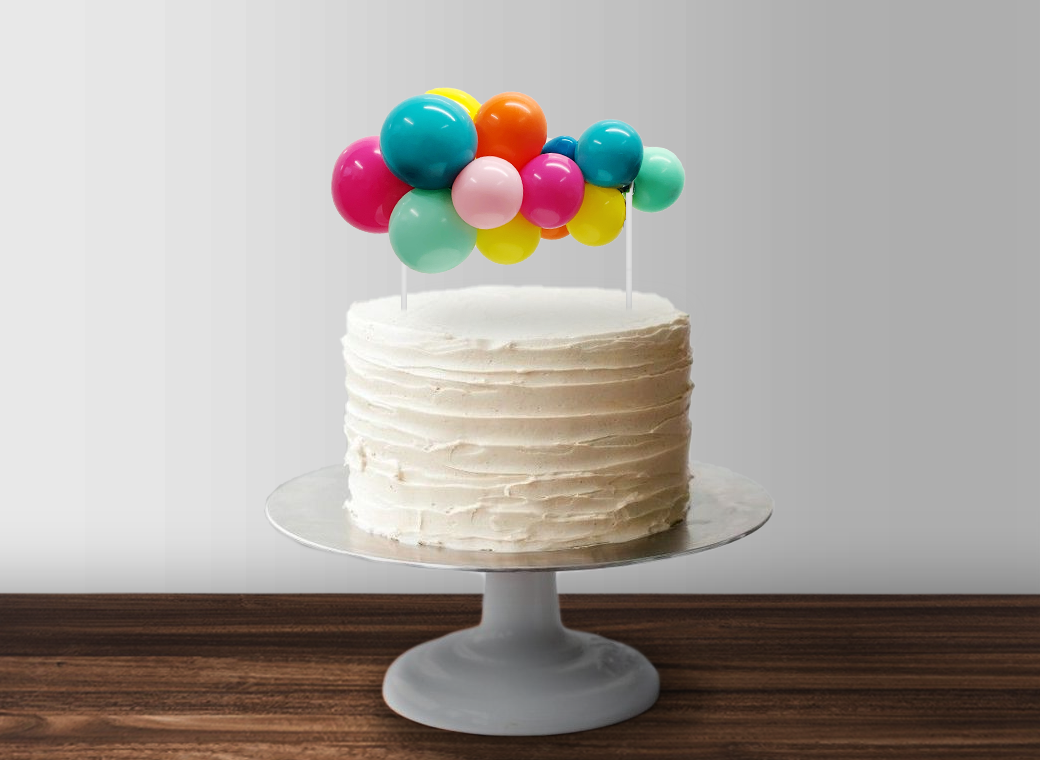 Balloon Garland Cake Topper - Fiesta