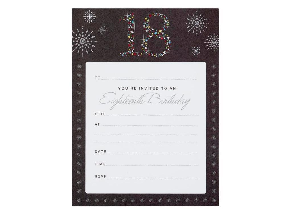 18th Birthday Invitations - Fiesta