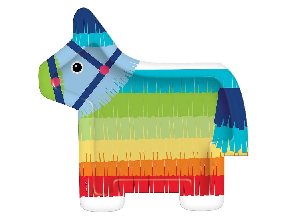 Fiesta Donkey Shaped Plates 8pk