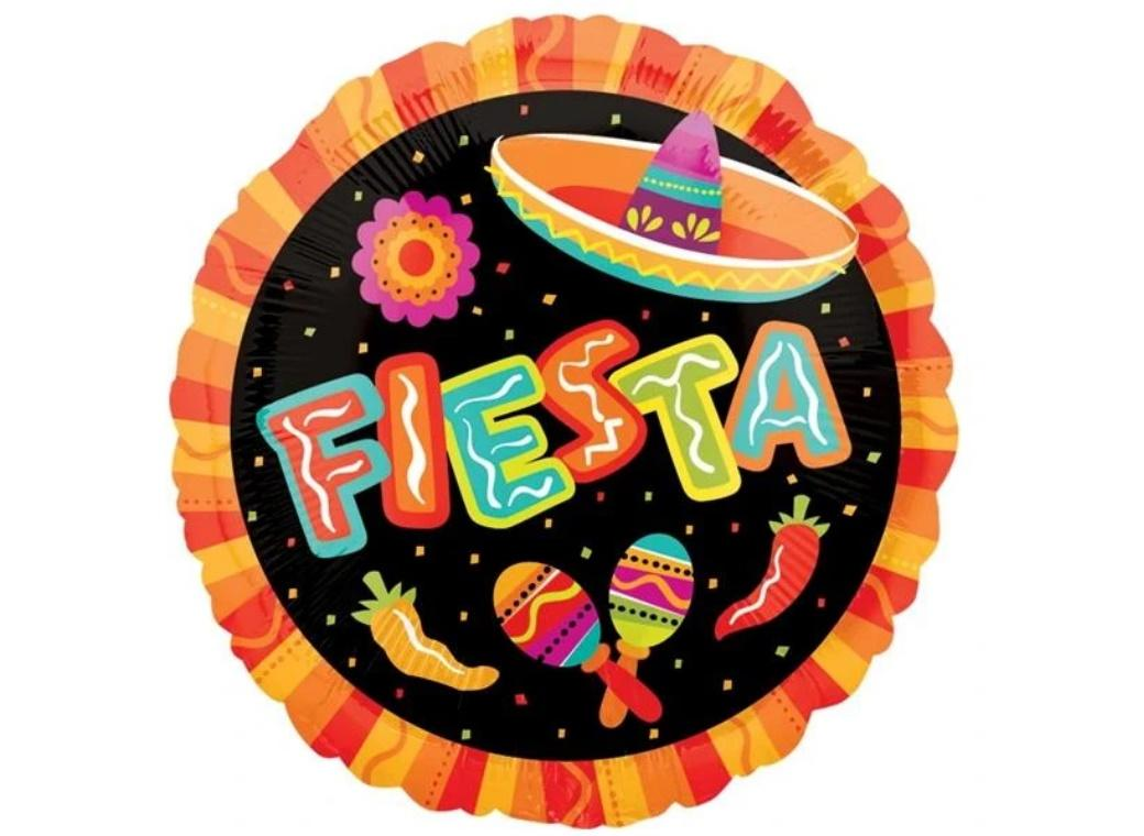Fiesta Fun Foil Balloon