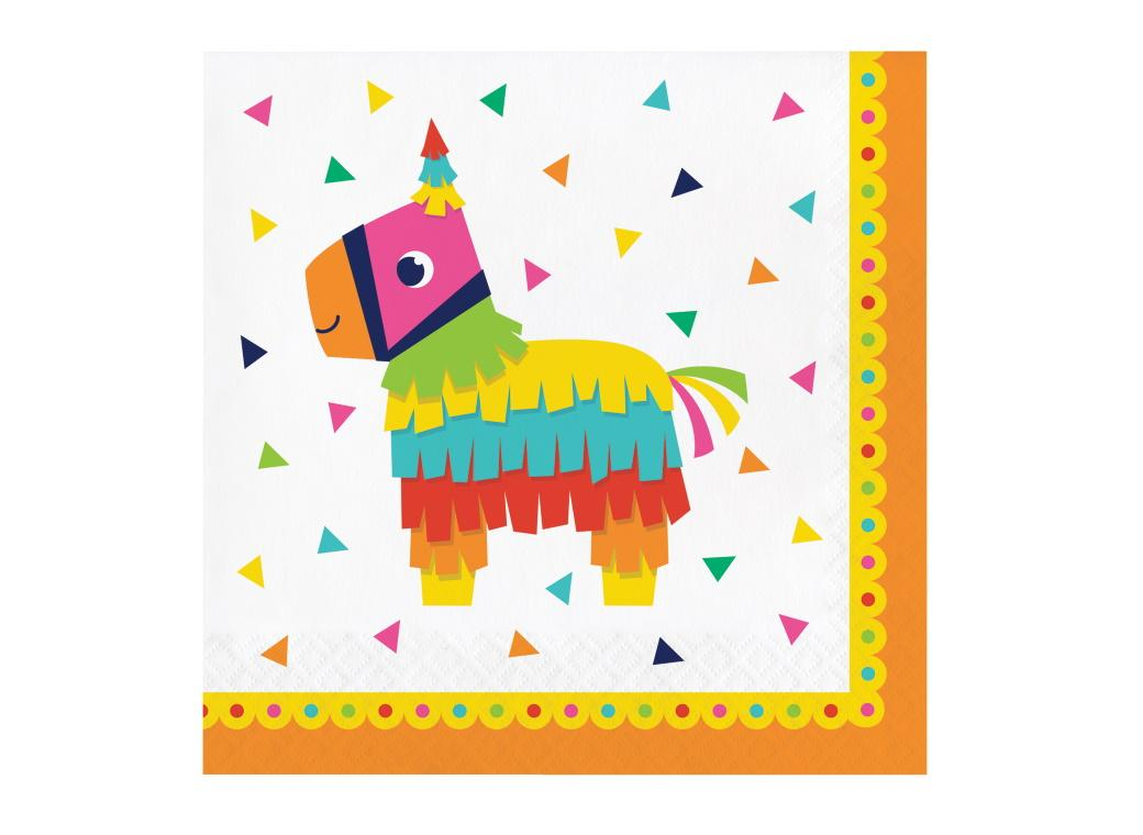 Fiesta Fun Lunch Napkins 16pk