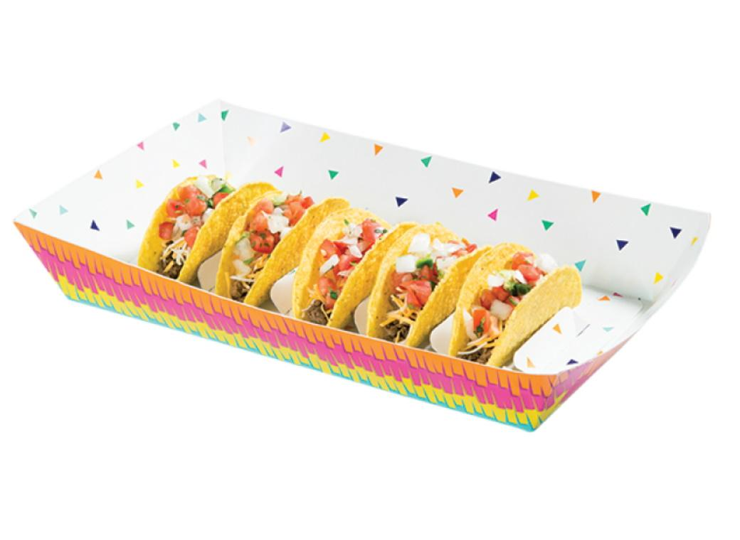 Fiesta Fun Taco Serving Tray