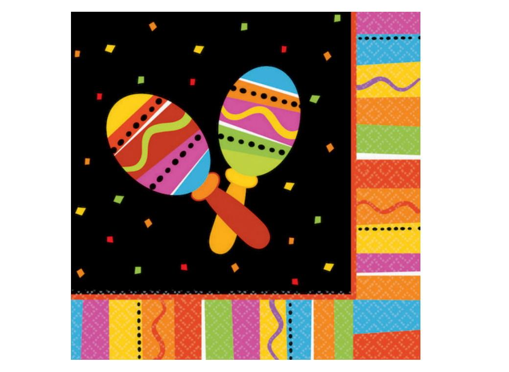 Fiesta Lunch Napkins 16pk