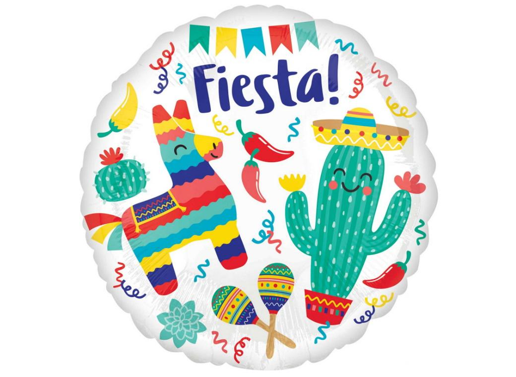 Fiesta Party Foil Balloon